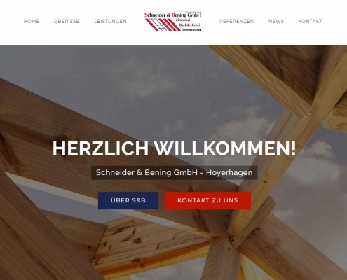 Webdesign Schneider und Bening