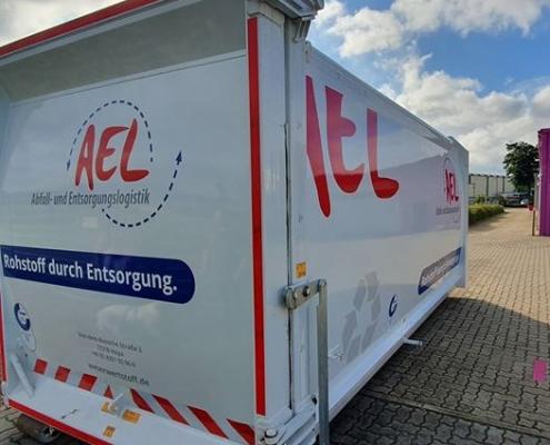 Fahrzeugbeschriftung AEL