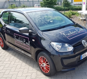 Fahrzeugbeschriftung Freulein Emil