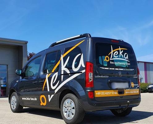 Fahrzeugbeschriftung Leka