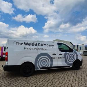Fahrzeugbeschriftung TheWoodCompany