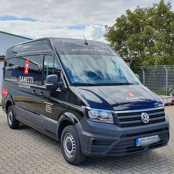 Fahrzeugbeschriftung Zanetti Haustechnik GmbH