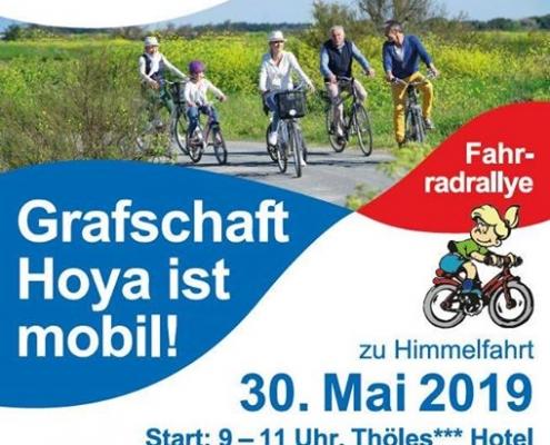 Plakat Himmelfahrt Radtour