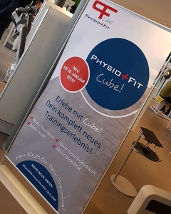 Roll-Up-Display PhysioFit
