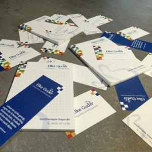 Logodesign Corporate Design Printmedien Elke Guder