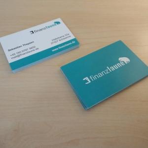 Logodesign Visitenkarten Finanzlaune