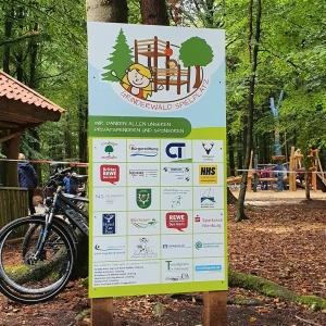 grinderwald sponsoringtafel waldspielplatz einfallsgeist