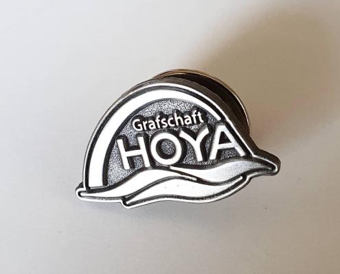 Individuelle Pins Anstecker Einfallsgeist Samtgemeinde Grafschaft Hoya