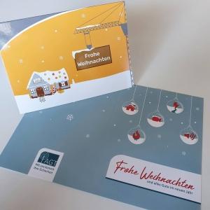 Weihnachtskarten AGT einfallsgeist