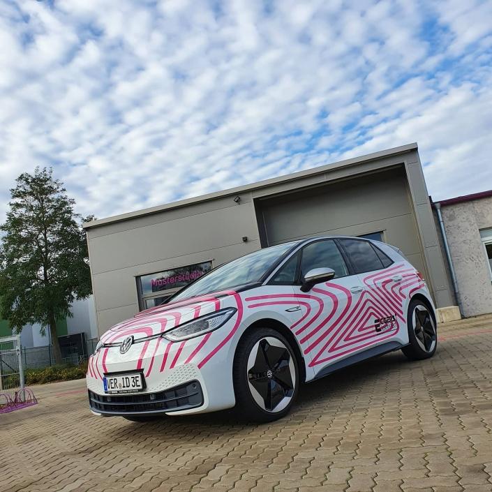 Fahrzeugbeschriftung Autohaus Eggers