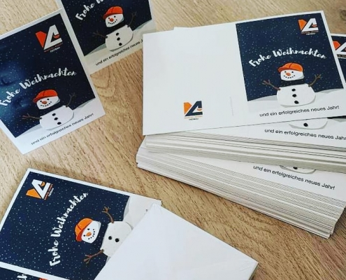 weihnachtskarten marcel adamy tiefbau einfallsgeist